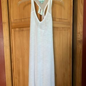 Women's size L White Coverup by Balance Collection